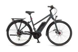 Winora Tria 8 Dam Grå 2021 Elcykel Hybrid